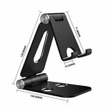Simpeak Aluminum Stand Dual Foldable Universal Phone Stand Holder for Phone iPad