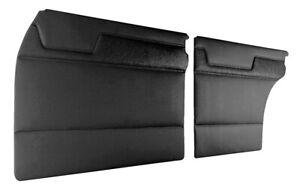 MERCEDES W115 200 230 230.4 230.6 220D INTERIOR DOOR PANEL BLACK 4 PCS PAIR