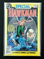 HAWKMAN SPECIAL #1 DC COMICS 1986 NM NEWSSTAND EDITION