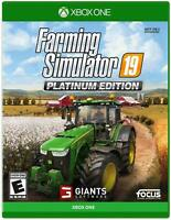 Farming Simulator 19 Platinum Edition Microsoft Xbox One