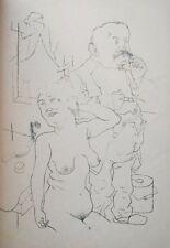 Lithography original - George Grosz - Ecce Homo - Sonntag Fox - 1923