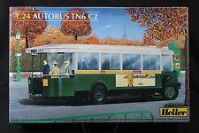 YO023 HELLER 1/24 maquette voiture 80789 Autobus TN6 C2