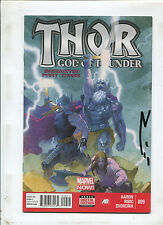 THOR GOD OF THUNDER #9 (9.0 OR BETTER) SIGNED BY ESAD RIBIC!