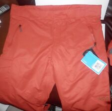 FIREFLY MEN'S REID SHELL PANTS F14 WINTER SPORTS COLOR BURNT OCHRE SZ XL NWT