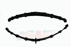 "Pair of New Leaf Springs Made in the UK MG Midget 1964-1979 Performance 1"" Lower"