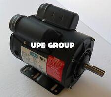 "LEESON  5HP SPL 15AMP COMPRESSOR MOTOR 230 VAC 3450 RPM 5/8"" SHAFT SPECIAL DUTY"