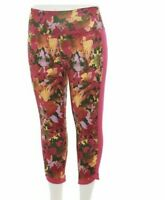 Plus Size Tek Gear Women's Abstract High-Waisted Capri Leggings-NWT-Size 3X
