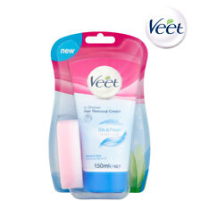 Veet In Shower Hair Removal Cream 150ml With Aloe Vera For Sensitive Skin