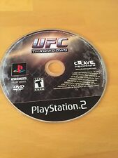 UFC : Throwdown - PS2 Sony PlayStation 2 game Disc Only Ultimate Fighting T Teen