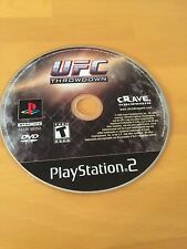 ufc: throwdown-ps2 sony playstation 2 game disc only ultimate fighting t teen
