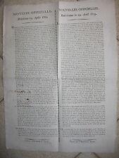 R527-GUERRE NAPOLEONICHE-NOTIZIE UFFICIALI DA RATISBONA 1809
