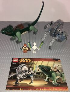 Lego 7255 Star Wars General Grievous Chase Set Minifigures Manual