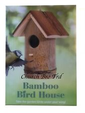 New Bamboo Bird House (By The Book People)BNIB