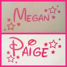 Personalised Disney Style Name Vinyl Sticker for Wall/laptop/lunchbox Etc
