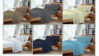100% Egyptian Cotton Extra Deep Pocket Percale 4 PC Sheet Set 800 Thread Count