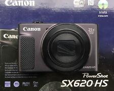 Canon PowerShot SX620 HS 20.2MP + 64GB + Etui - Schwarz - kaum genutzt