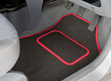 TAILORED CAR MATS WITH RED TRIM FOR NISSAN NOTE (2006 TO 2012) [1203]