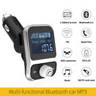 HY-88 Wireless MP3 Bluetooth Player Hands Free Car USB Charger Adapter 12V-24V