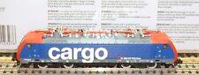 "Minitrix N 12327 locomotora eléctrica Serie Re 474 014-8 SBB ""Cargo"" Ep.5"