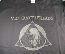 MEGADETH VIC AND THE RATTLEHEADS SECRET SHOW AT ST VITUS-BROOKLYN T-SHIRT XL NEW
