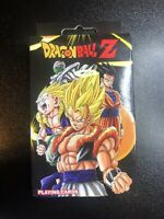 DRAGON BALL Z - PLAYING CARD DECK - 52 CARDS - BRAND NEW - 2017