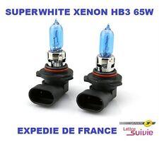 2 AMPOULES HB3 9005 PEUGEOT 308 II XENON SUPERWHITE  65W  NEUF