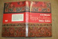 Teppich-Atlas, Sammlerbuch, Knüpfteppiche, Orientteppich, China, Indien
