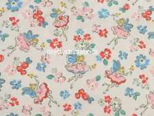 Pink Little Fairies Cath Kidston Cotton Duck Fabric 1M