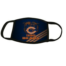 Face Mask Chicago Bears Washable Reusable Stretch Made in USA