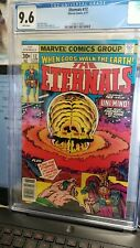 (H8)The Eternals #12 CGC 9.6 NM BRONZE AGE Marvel MCU- ENTIRE SET LISTED!!