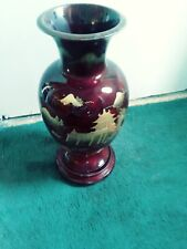 Vintage MARUNI Lacquerware Vase Hand Made Occupied Japan Pagoda  18