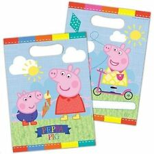 Design Peppa Pig Party Loot Bags 8 Pack