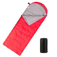 Outdoor Camping Envelope Sleeping Bag Mummy Ultralight Travel Hiking Waterproof
