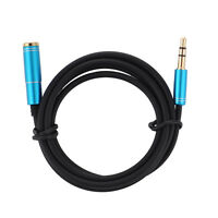 3.5mm Male to Female M/F Stereo Jack Headphone Extension Cable Aux Audio Lead US