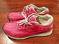 Timberland European Style Women's Walking Hiking Trail Shoes Suede Pink Size 8