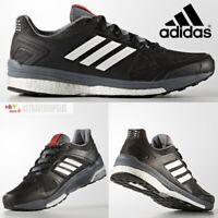 ADIDAS SUPERNOVA SEQUENCE ULTRA BOOST MENS BLACK SHOES RUNNING NMD BB1613 NEW