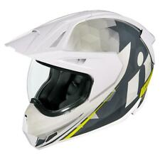 Icon Variant Pro Ascension White Motorcycle Helmet