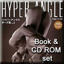 Art Pose Book & CD 02 Hyper Angle Male Torso Views