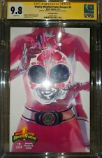 Mighty Morphin Power Rangers #0 CGC SS Pink Ranger Variant SIGNED GRADED 9.8