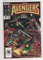 AVENGERS #284 John Buscema Captain America Namor Marvel She-Hulk Thor 9.2