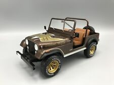 JEEP cj-7 Golden Eagle, metallic-Marron foncé 1980 1:18 MCG 18109 * New *