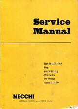 Repair Necchi Bf / Bu Mira, Nova Sewing Machine Service Manual