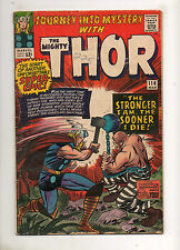 Journey Into Mystery #114 THOR! 1ST APP ABSORBING MAN! 1965 VG+ 4.5 KIRBY ART!