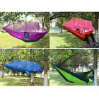 Double Hammock Tree 2 People Person Sleeping Bed Swing Outdoor With Mosquito Net