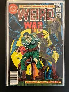 Weird War Tales #102 1981 High Grade 8.0 DC Comic Book D26-17