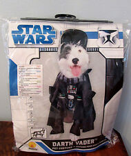 Star Wars Darth Vader Sith Lord Pet Dog Halloween Costume L 18 - 20 inches NIP