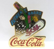 Coca-Cola - EXTREME BOARD - PINS attacco bottone a innesto-anno 1995