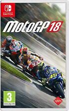Nintendo Switch Spiel MotoGP 18 Moto GP 2018 Motorradrennen NEUWARE