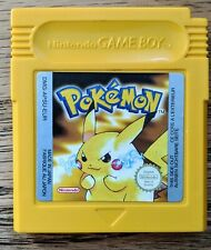 Pokemon: Amarillo Gameboy Juego-probado GBC Cartucho Pikachu