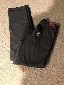 Adidas Boys Granite/Black Fleece Lined Pull-On Pant Size XL 18